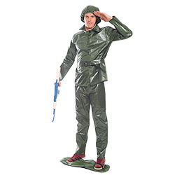 Saluting Toy Soldier Costume