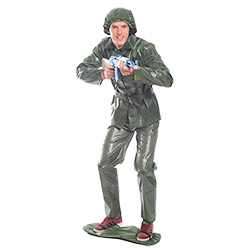 Toy Soldier Costume pointing gun