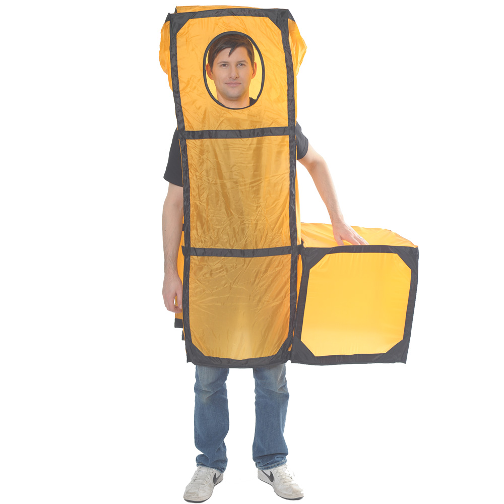 Orange Tetris Piece costume