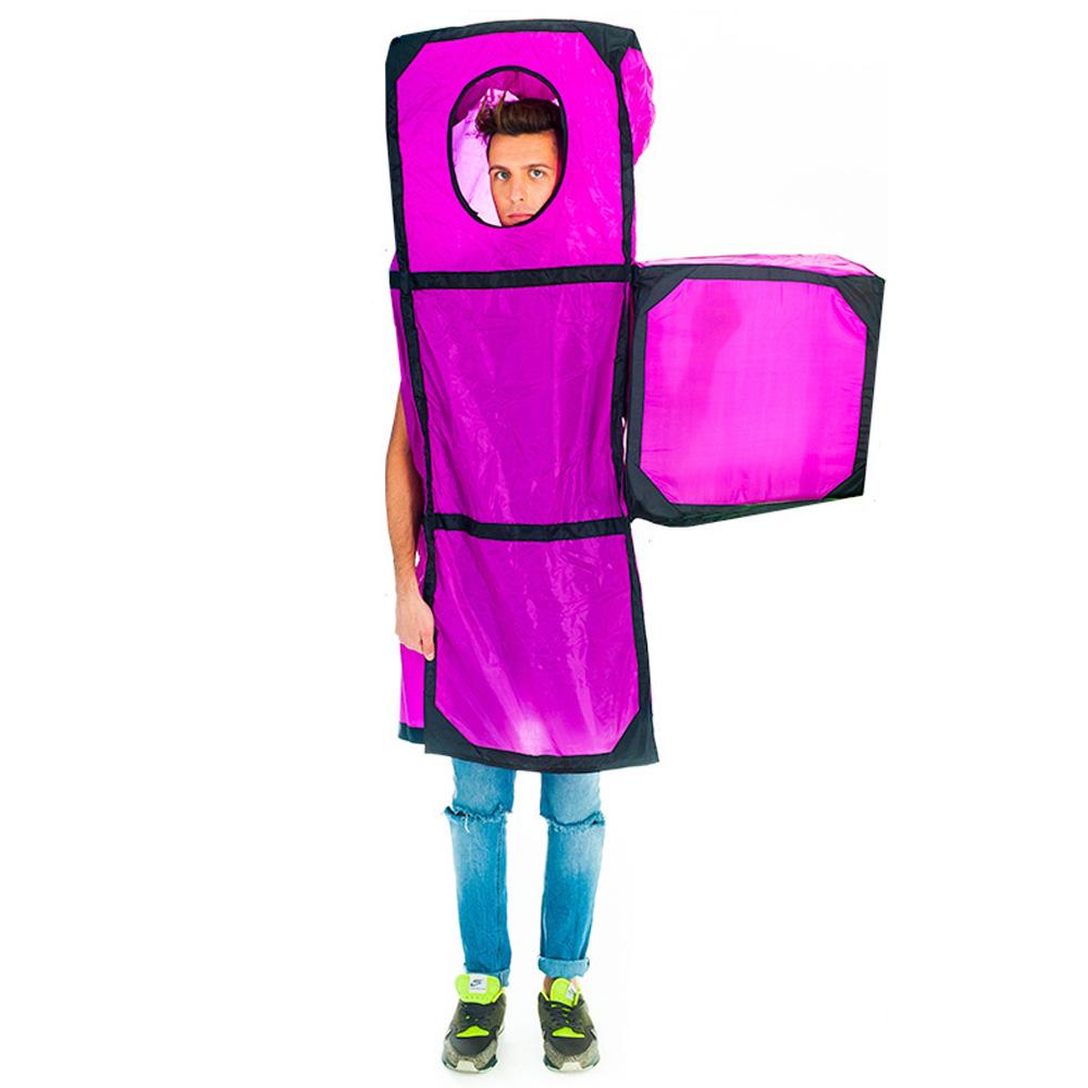 Purple Tetris Piece costume