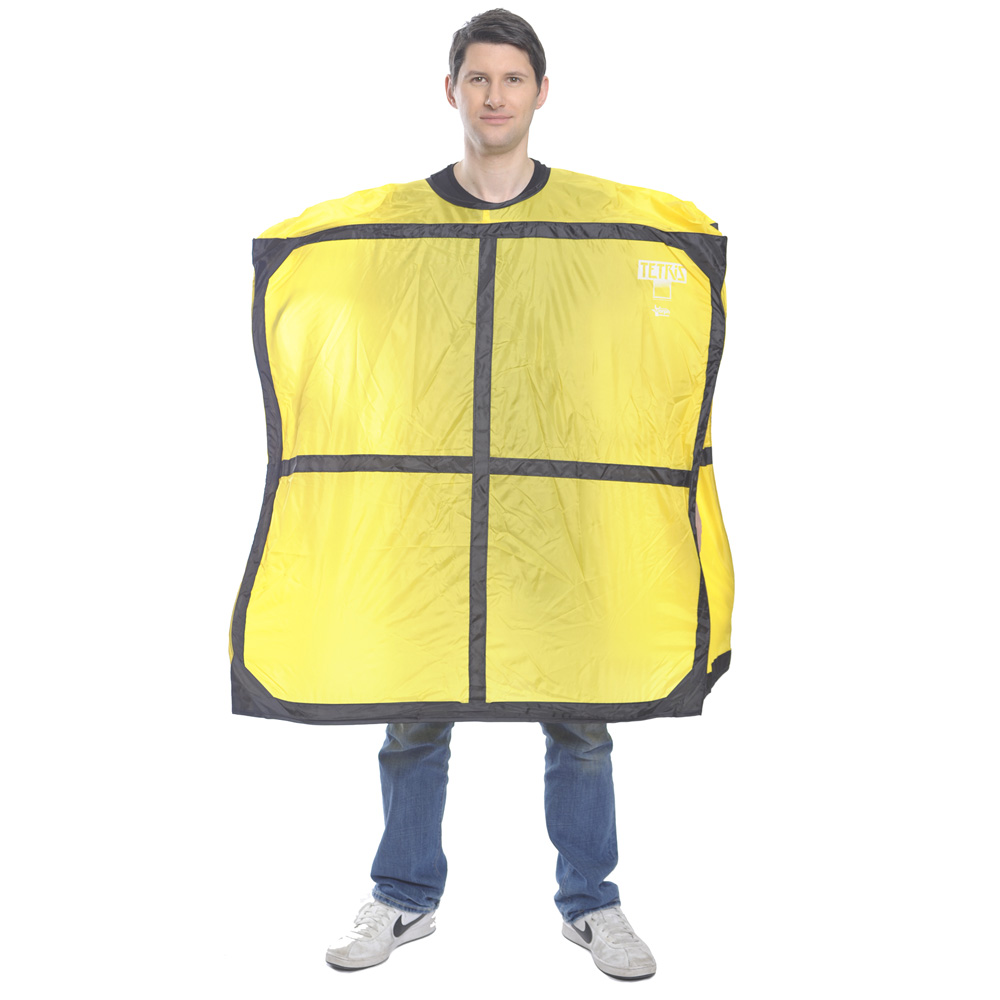 Yellow Tetris Piece costume