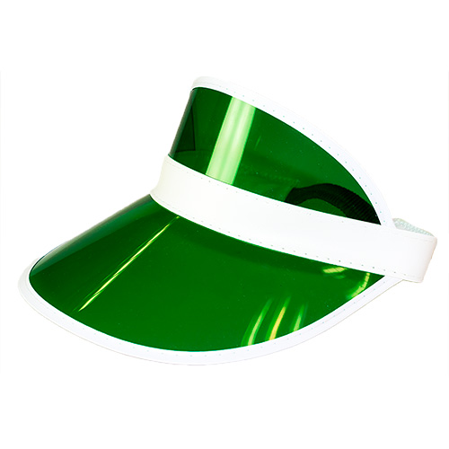 Green Golf Visor