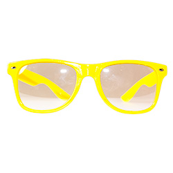 Side Of Neon Glasses Yellow