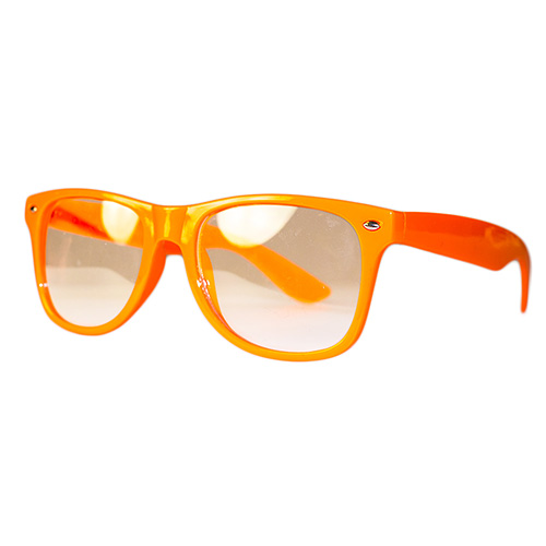 Side Of Neon Glasses Orange