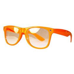 Side Of Neon Orange Glasses