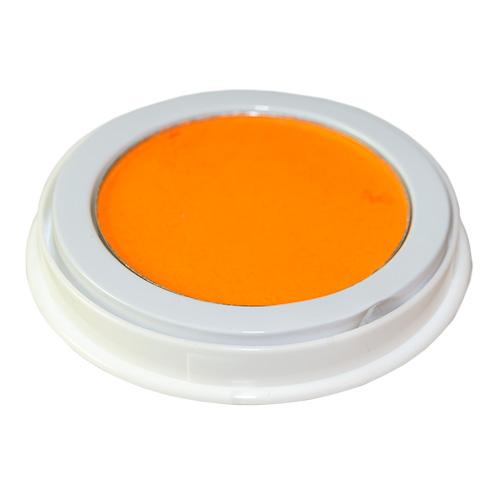 Neon Orange Face Paint