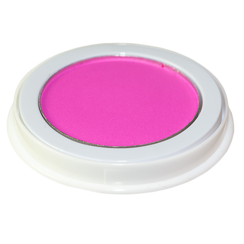 Neon Pink Face Paint