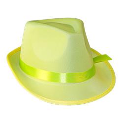 Yellow Neon Gangster Hat