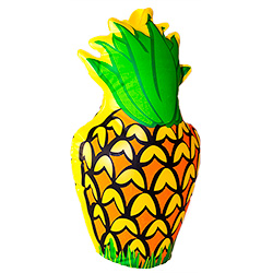 Inflatable Pineapple side view