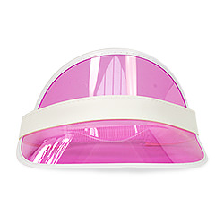 A front view of the visor.