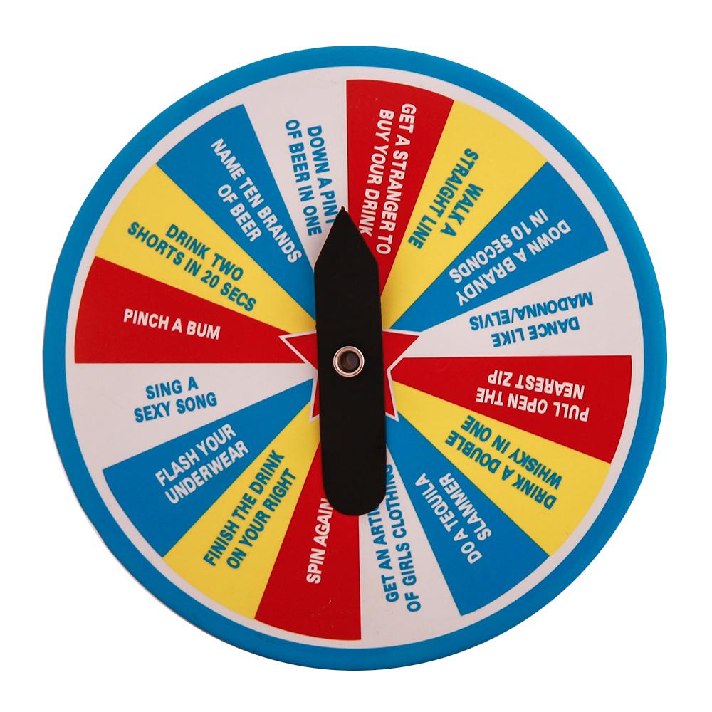 Brilliant Spinning Multi Coloured Dares Badge