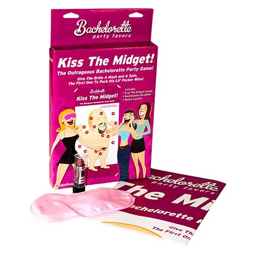 Kiss the Midget box contents Contents