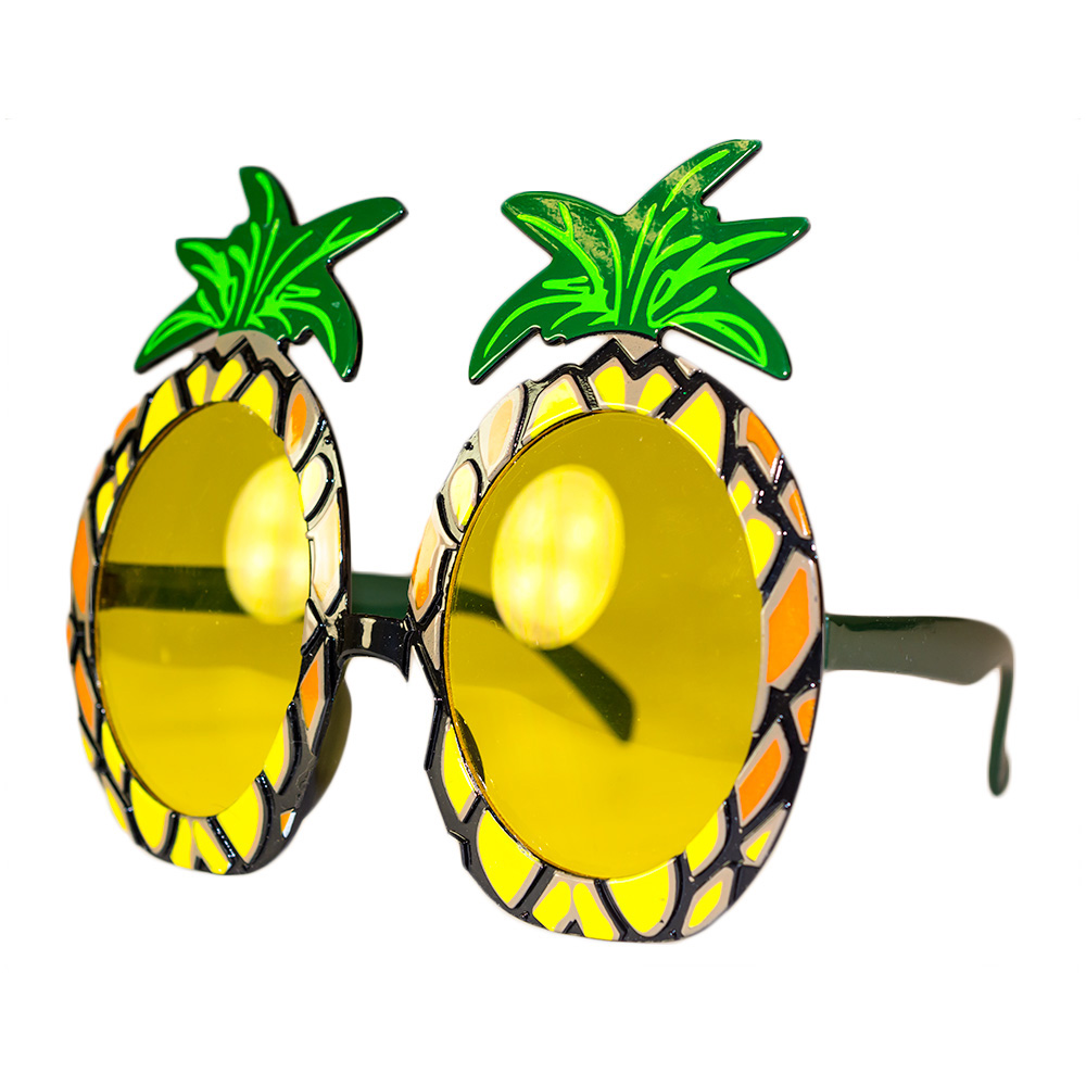 Pineapple Shaped tinted glasses