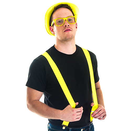 Neon Yellow Braces