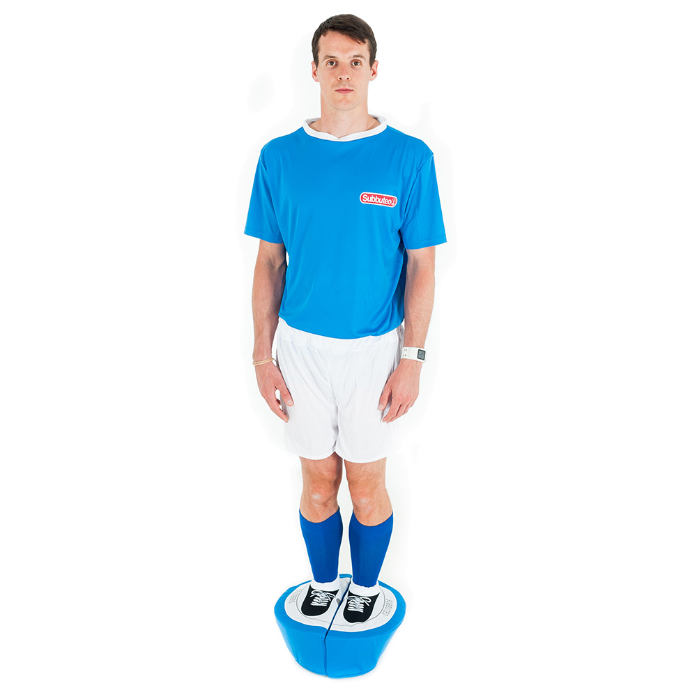 Blue Subbuteo Player Costume