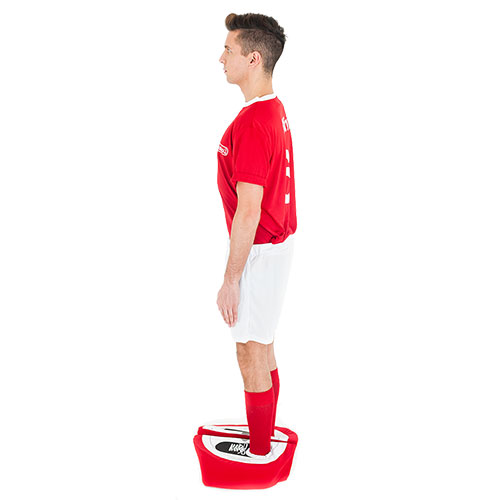 Red Subbuteo Player Costume