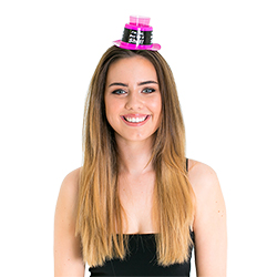 Model wearing the Shot Glass Party Hat