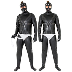 Stud Undies worn with Gimp costume