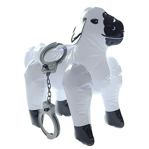Inflatable Sheep with Cuffs