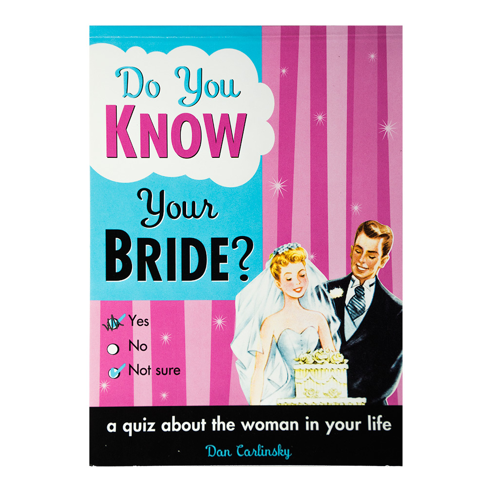 Do You Know Your Bride? Cover