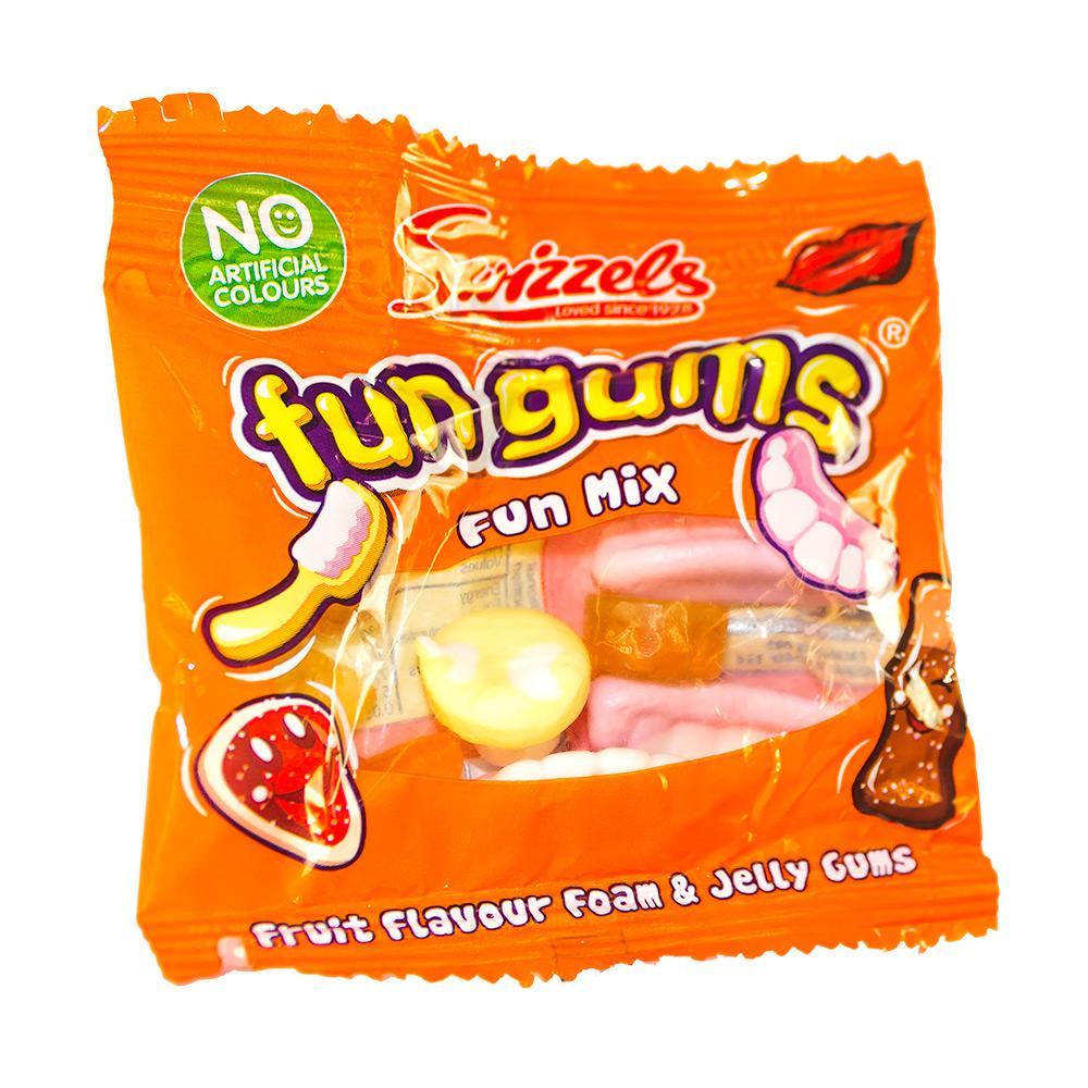 Fun Gum Mix in an orange packet