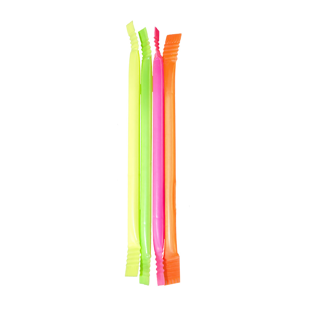 Rainbow dust straws come in various colours