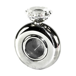 hen party flask with diamond cap