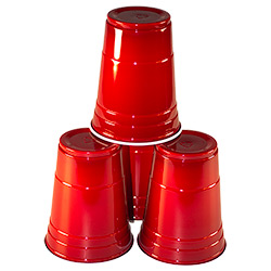 Pyramid of Solo Cups