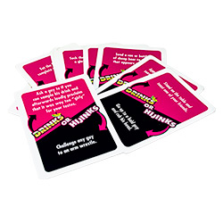 Drinks or Hijinks cards