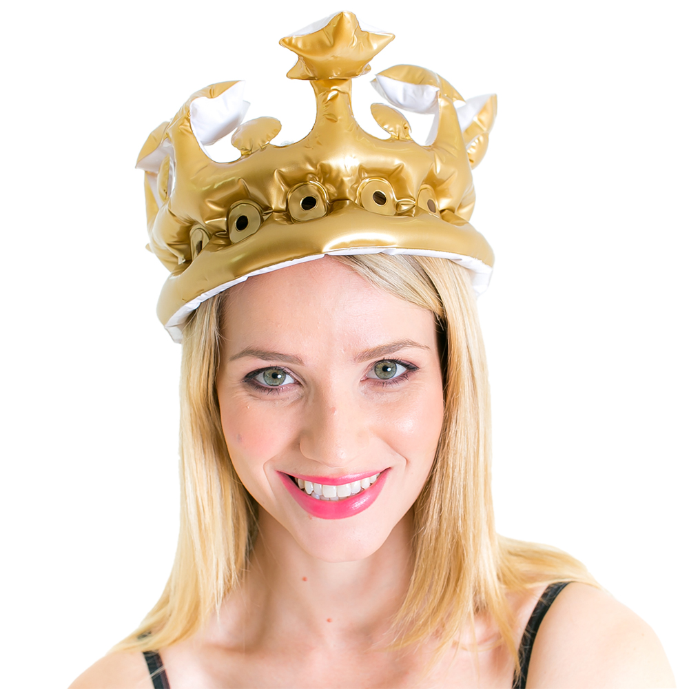 Queen For The Day Inflatable Crown