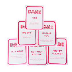 Hen night dare cards
