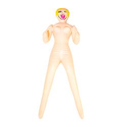 Mini Blonde Blow Up Doll