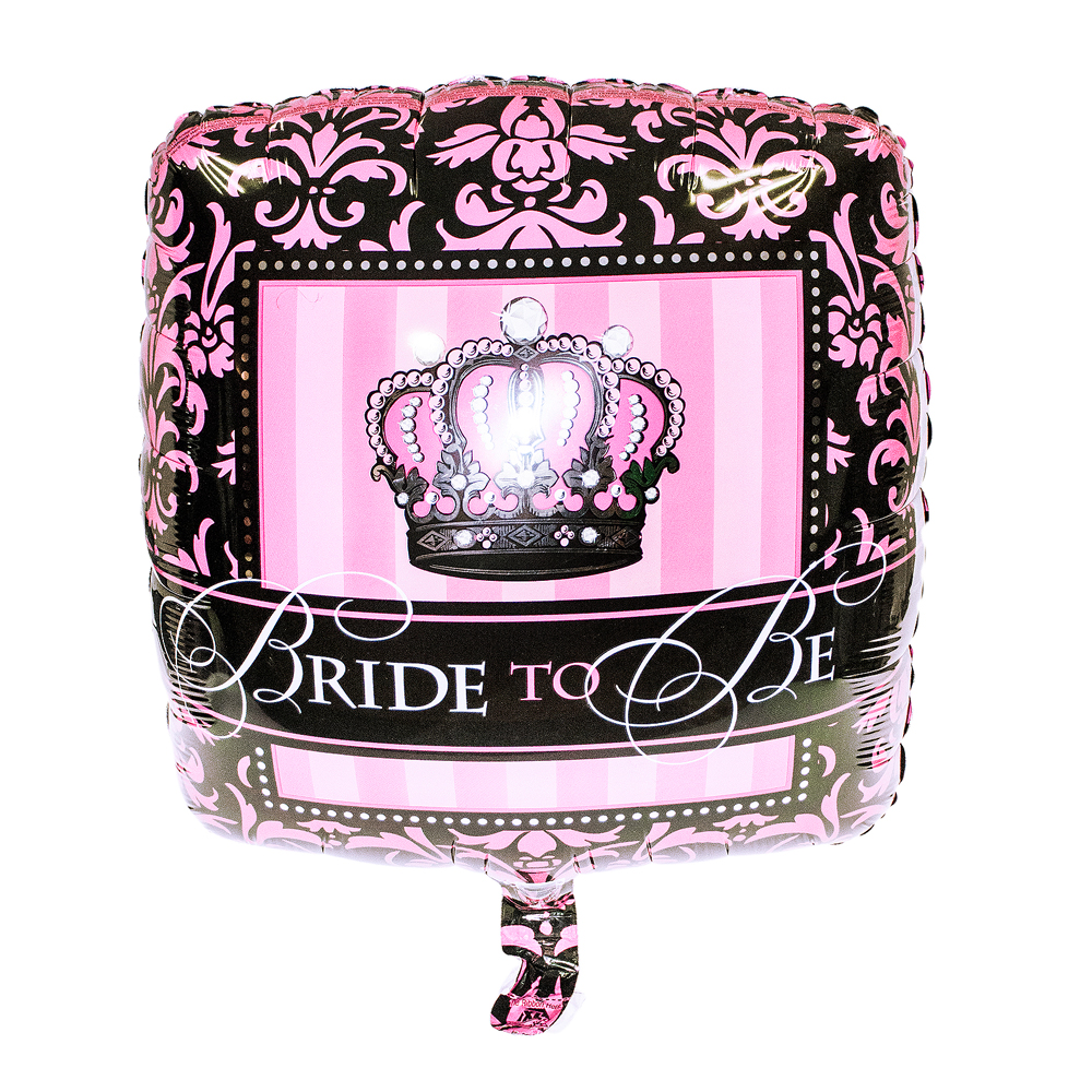 Crown Bride To Be Balloon