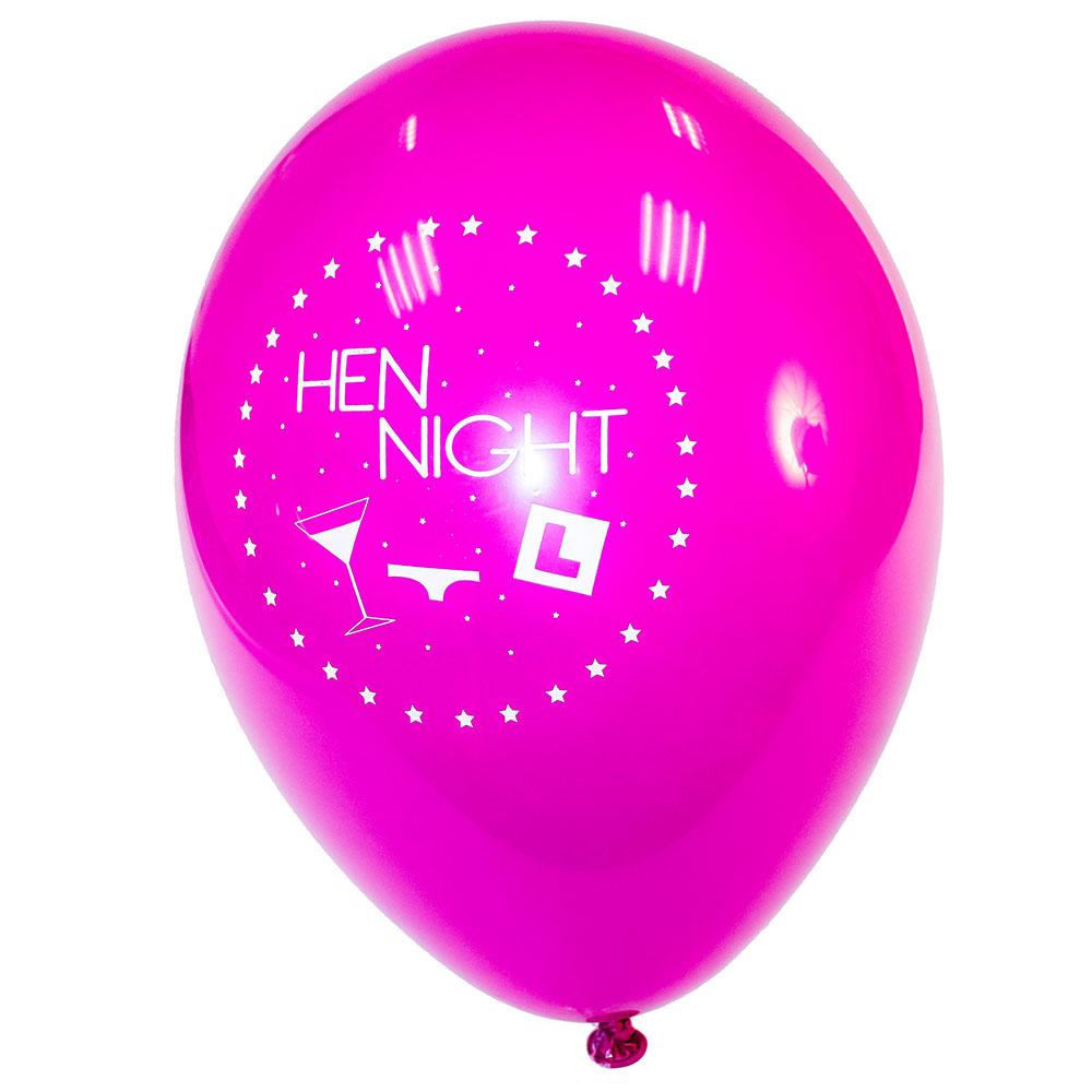 Pink Hen Night Balloon