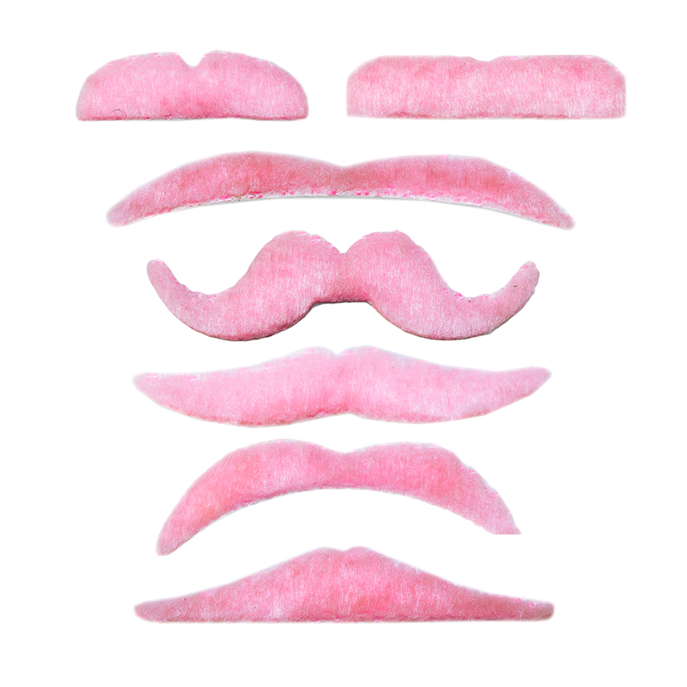 Set of weekly moustaches