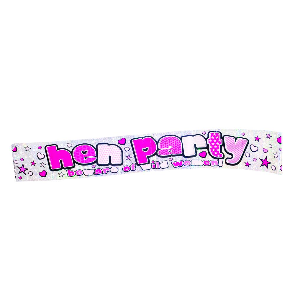 hen party banner