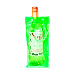 Green Ice Bag with bottle