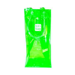 Green Ice Bag with logo