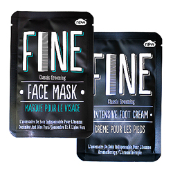 Face mask and foot cream