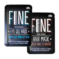 Eye pads and hair mask
