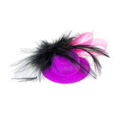 Add a touch of class with this pink fascinator