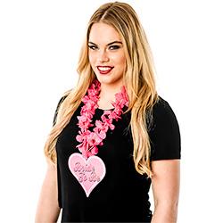 Pink Bride To Be Hawaiian Garland