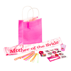 Mother of the Bride party bag contents