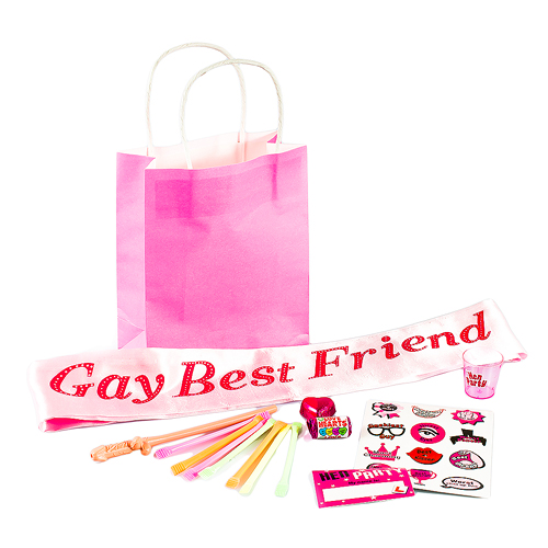 Value Gay Best Friend Gift Bag contents