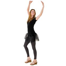 The model dancing.