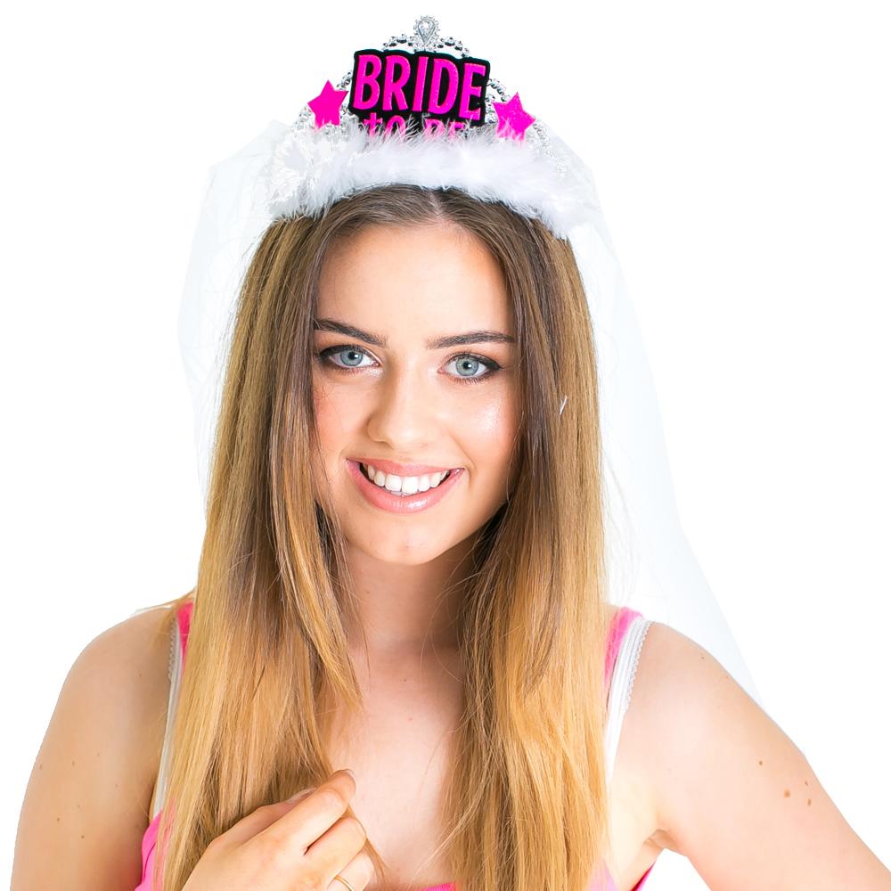 Bride-to-Be tiara and veil