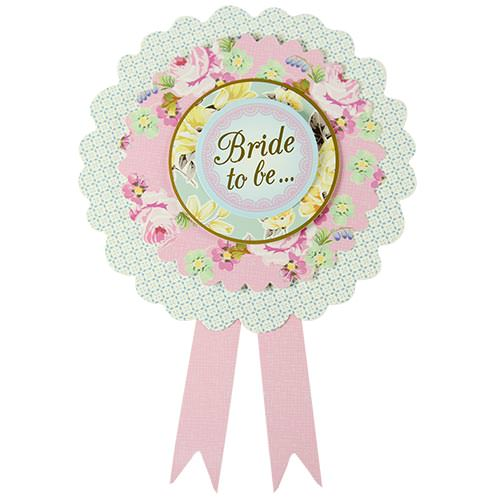 Vintage Design Hen Party Rosette