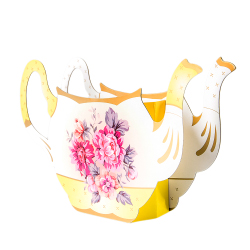 Teapot shaped vase