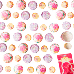 floral cupcake cases