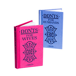 Don'ts For Wives and Don'ts for Husbands